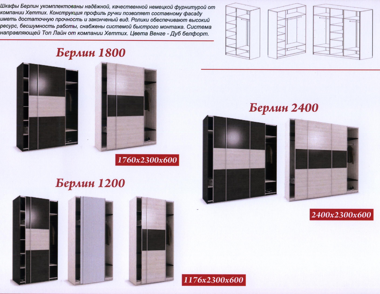 Схема сборки шкаф-купе берлин