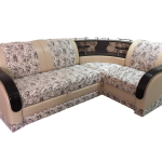 угловой диван барон белый